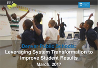 Denver Public Schools 20/20 report cover slide